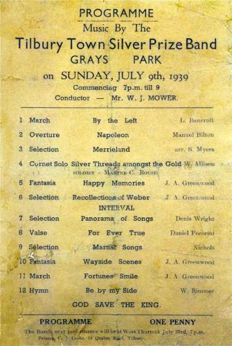programme 1939july9