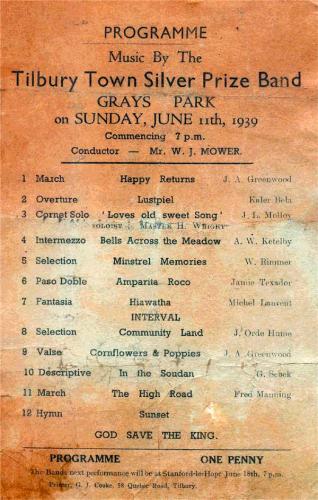 programme 1939june11