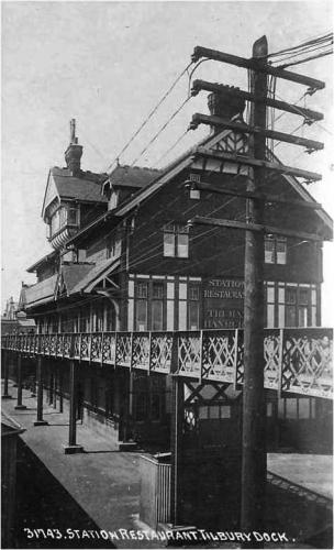 Tilbury Dock Station Restaurant