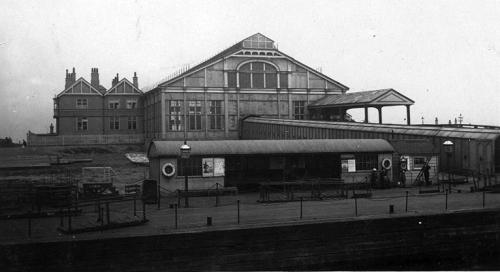 Tilbury Riverside Pier and Station