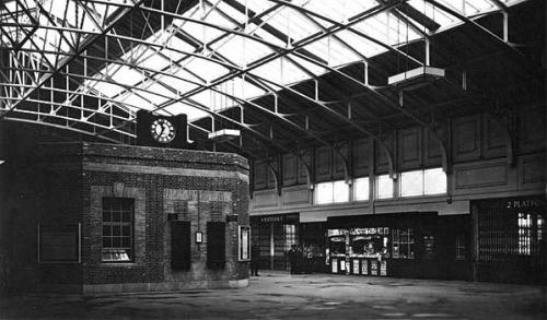 Tilbury Riverside Station Inside