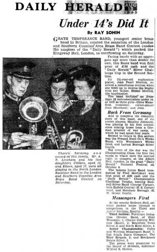 Grays-Temperance-Youth-Band-Win-Herald-1945