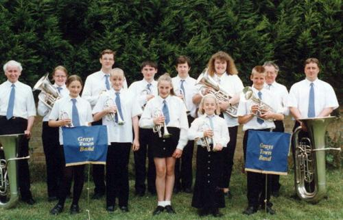 Grays-Town-Band-1997-Raphael-Park-Contest