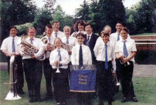 Grays-Town-Band-Raphael-Park-Romford-1999