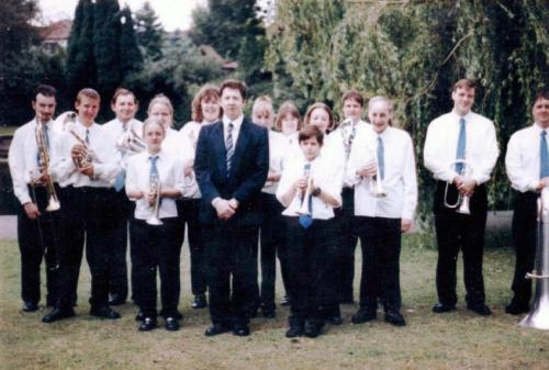 Grays-Town-Band-Raphael-Park-Romford-2000